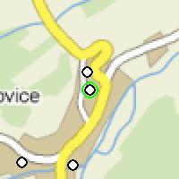 Umístění vysílačů bezdrátového internetu pro lokalitu trebichovice v obci Třebichovice
