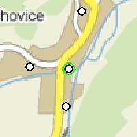 Umístění vysílačů bezdrátového internetu pro lokalitu trebichovice-bytovky v obci Třebichovice