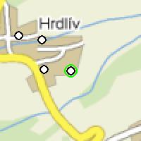 Umístění vysílačů bezdrátového internetu pro lokalitu hrdliv-louma v obci Hrdlív