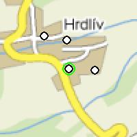 Umístění vysílačů bezdrátového internetu pro lokalitu hrdliv v obci Hrdlív