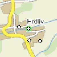 Umístění vysílačů bezdrátového internetu pro lokalitu hrdliv-skolka v obci Hrdlív