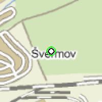 Umístění vysílačů bezdrátového internetu pro lokalitu kladno-vodojemsvermov v obci Kladno