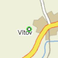 Umístění vysílačů bezdrátového internetu pro lokalitu vitov v obci Vítov