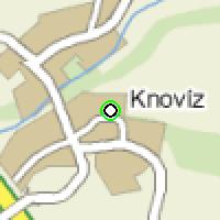 Umístění vysílačů bezdrátového internetu pro lokalitu knoviz v obci Knovíz