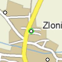 Umístění vysílačů bezdrátového internetu pro lokalitu zlonice v obci Zlonice